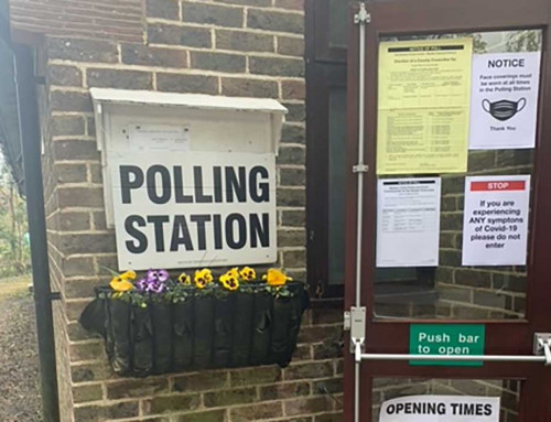 The Hall opens its doors for Polling Day on 6 May 2021